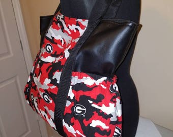 Custommade camouflage  diaper bag