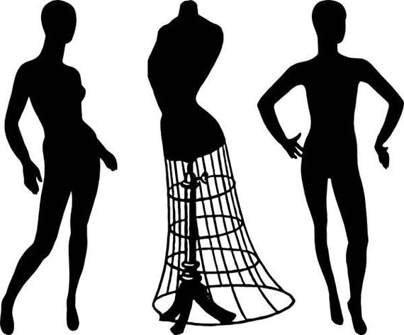 """wire dress form mannequin body silhouette clipart png jpg sewing steampunk digital stamp Digital Download graphics image 10"""" x 12"""" printable"""