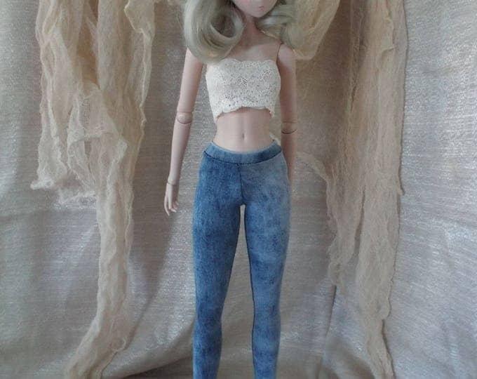 Denim Jeggings for Smart Doll and Dollfie Dream