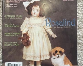 Doll Crafter magazine; March 2002 issue