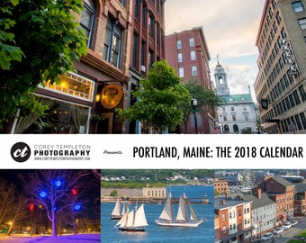 Portland, Maine: The 2018 Calendar