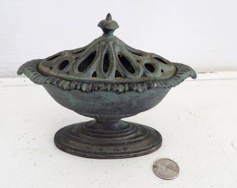 Vintage Cast Incense Burner VA Metal Crafters