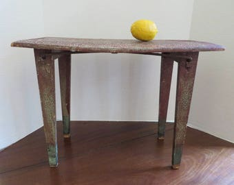 Antique Small Old Painted Table