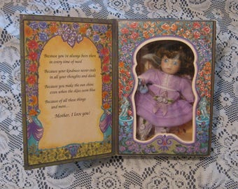 Marie Osmond Greeting Card Doll - 1994 - Knickerbocker - Mother's Day