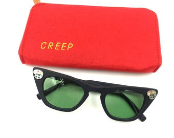 ART Creep Cat Acetate Sunglasses