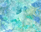 Tossed ginkgo leaves batik Timeless Treasures