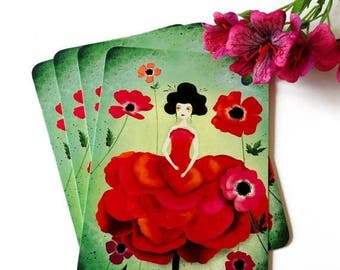 30% Off - Summer SALE 30 Percent Off - Summer SALE Anemone - Postcard