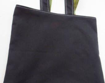 Lined Tote Bag - Men in Black