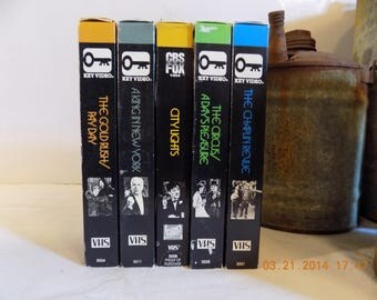 Charlie Chaplin Centennial collection VHS movie tapes 10