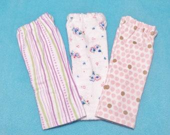 14 1/2 inch Doll Flannel Lounge Pants