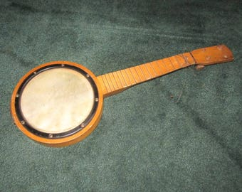 Vintage Banjo Ukulele from Estate for Repair as found