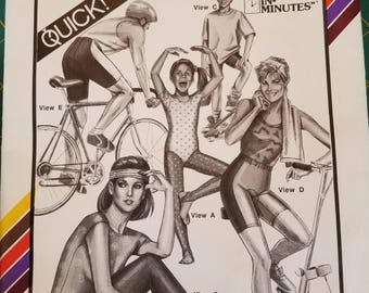 Tights and Bicycle Shorts Stretch N Sew 312 Multi Size
