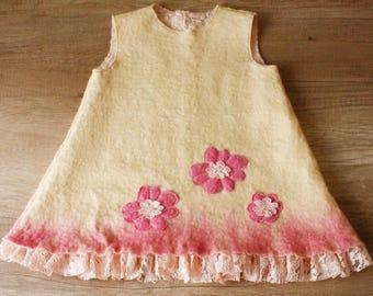 Felted dress