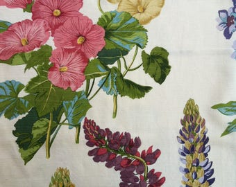 """18"""" CottonLinen Floral Pillow Cover by Barneche/Stephanie Barnes"""