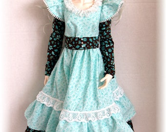 Floral Dress for 1/3 SD BJD Iplehouse EID Doll