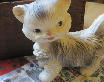 Sweet Vintage 1960 Edward Mobley Rubber Squeaky Cat Toy
