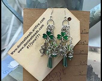 Clover Earrings #17june771