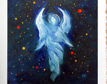 Angel Card, Angel Art Print Card, Blank Greeting Cards, Angels, Angel, Greeting Cards, Spiritual