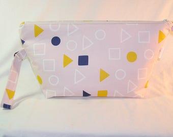 Geometry in Chalk Pink Beckett Bag