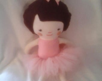 Flash Sale 18 Inch Ballerina Rag Doll With Removable Shoes and Tutu