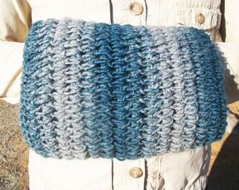 PATTERN: Easy Crochet Hand Muff Warmer Pattern, Warm Winter Hand Muff Warmer Pattern, Crochet Hand Warmer Pattern, Old Fashioned Hand Muff