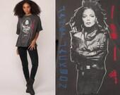Janet Jackson Shirt RHYTHM NATION 90s Band Tshirt Music Tour Concert T Shirt 1990 R&B Pop Vintage Large