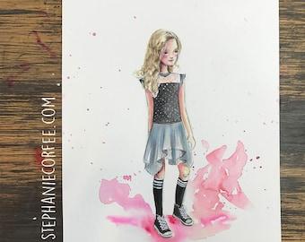 GRAB BAG Originals - CityKid Fashion Watercolor