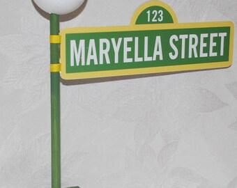 Sesame street sign etsy aloadofball Images