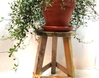 Vintage Wooden Stool Pine Primitive 3 Legged Farmhouse Display Sturdy Milking & 3 legged stool | Etsy islam-shia.org