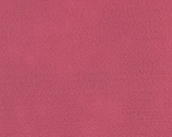 "Dusty Rose Acrylic Craft Felt by the Yard - 1/16"" Thick, Available Plain (72"" Wide) or with a Peel-and-Stick Adhesive Backing (36"" Wide)"