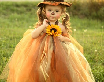Sassy Little Scarecrow Tutu Dress