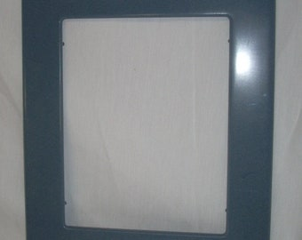 Corian Solid Surface Blue Picture Frame Holds 11 x 14
