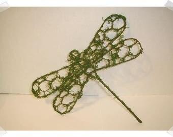 """Chicken Wire Dragonfly Decoration/ 7""""/Craft Supplies*"""