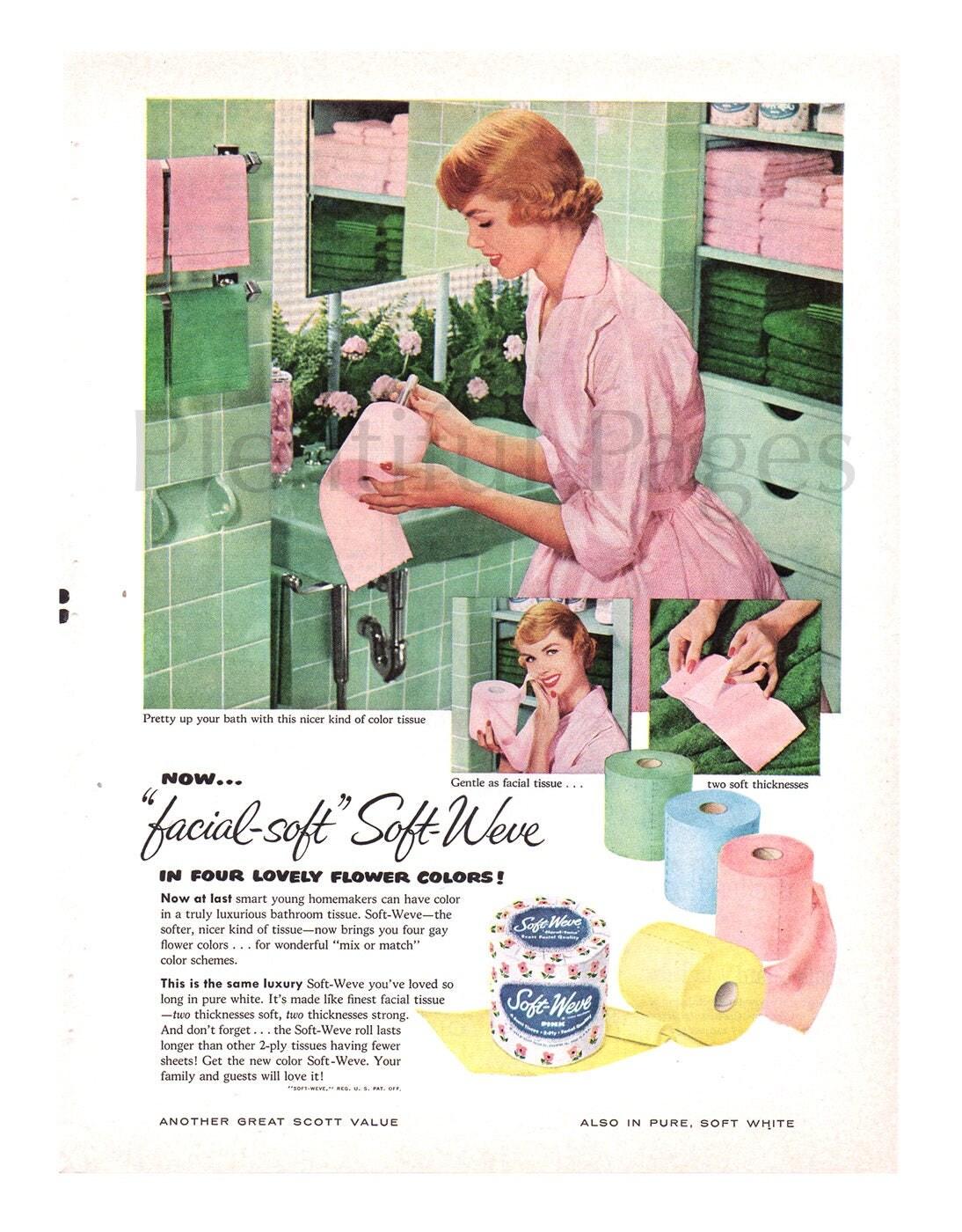 Vintage bathroom ads -  Zoom