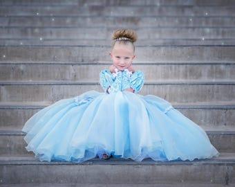 Size 5 Cinderella ballgown