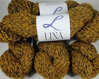 Recycled Yarn: wool, alpaca, silk