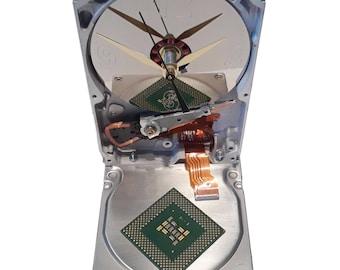 Hard Drive Clock. Vintage Hard Drive. Unique Office Gift, Retirement Gift,  Teacher