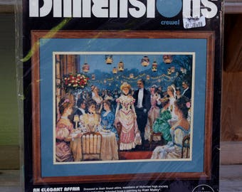 Dimensions Crewel Kit An Elegant Affair