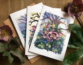 Set of 3 Cards - Woodland Series