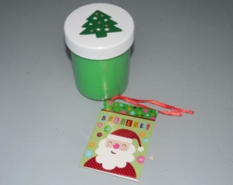Slime Free shipping Christmas tree green scented party favors gifts stress relief Limited Edition