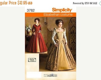 Historical Elizabethan Costumes--Misses Multi Sizes 6-12 -- UNCUT Patterns -- 40-70% off Patterns n Books SALE