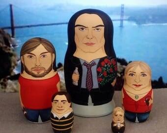 The Room Matryoshka Dolls