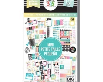 Work it Out Mini Create 365 Happy Planner Sticker Value Pack Mini (1939/Pkg) Me & My Big Ideas (PPSV-36-3048)