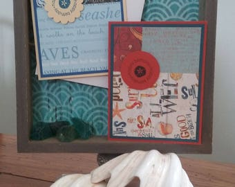 Beachy Birthday Card (Orange)