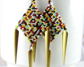 Diamond Daggers - Multi Colored