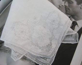 Gift for Bride - Vintage Handkerchief