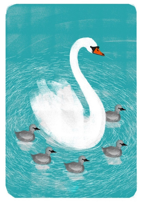 Swans - Signed Print