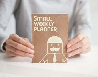 Weekly planner -small size - ONLY 2 LEFT-
