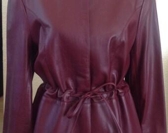 Vintage Ladies Alta Moda Firenze Leather Jacket