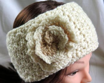 Ear Warmer Headband , Crochet Headband, Head Wrap, Women's Headband  Fall Fashion